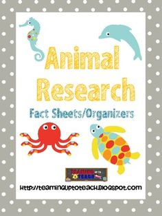 Animal Research fact organizer