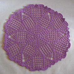 Kaleidoscope Doily - A free Crochet pattern from jpfun.com.
