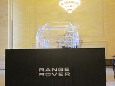 Range Rover Exhibit in Grand Central Station, NYC - Very Cool!