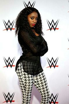 Naomi is pictured on the red carpet prior to the WWE Live event at World on April 2015 in Hamburg, Germany. Wwe Total Divas, Nxt Divas, Black Wrestlers, Wwe Female Wrestlers, Wrestling Superstars, Women's Wrestling, Beyonce Nicki Minaj, Wwe Girls, Wwe Ladies