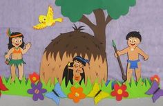 mural dia do indio eva - Pesquisa Google
