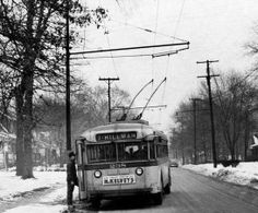 Trolley bus - Youngstown, Ohio