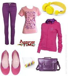Princess Bubblegum (Adventure Time) inspired outfit <3