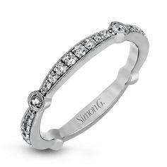 MR1546-BAND-Simon G. white gold and diamond wedding band