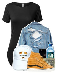 """You make my heart shake, bend, and break"" by l-ondonbridge ❤ liked on Polyvore featuring High Heels Suicide and Vans"