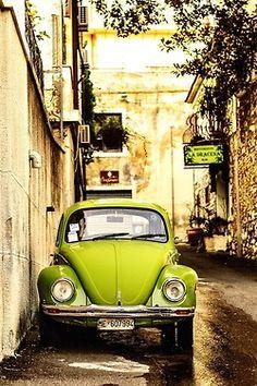 VW bug in Sicily