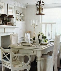A Dining-room Inspiration Post    Our Winter break in Brittany is about to end and all my best laid plans to do huge things in the dining-r...