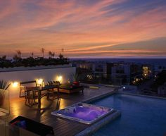 Happy Address Condo in Playa del Carmen.. Roof top view