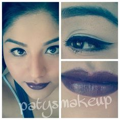 Fall makeup  love the lips