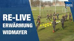 RE-LIVE AUFWÄRMEN WIDMAYER - Training - Hertha BSC - Berlin - 2017 #hahohe