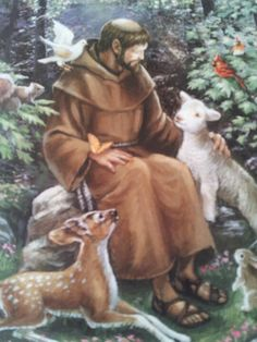 Saint Francis of Assisi - feast day October 4 ❤