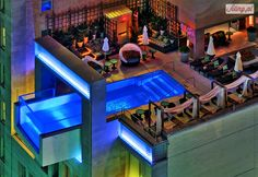 Basen na dachu Joule Hotel, Dallas, Stany Zjednoczone