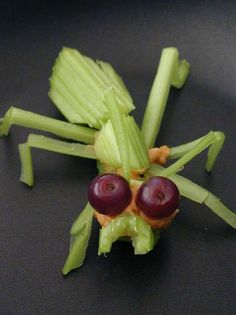 I would so eat my veggies in this cool insect style!