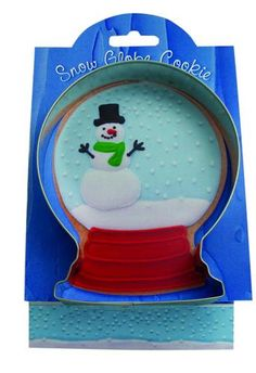 Snow Globe Cookie Cutter  4.5 Tin Cookie Cutters & by swigshoppe, $3.99
