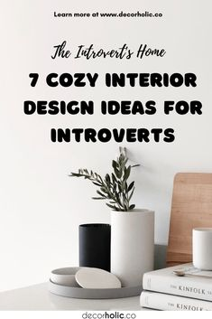 An introvert s a homebody by nature that puts a lot of work to make their home is a sanctuary. It means comfortable, inviting furnishing, and touchable decor. There is such an introverted interior. I definitely think so – I'm an introvert, therefore it makes sense that my home is introverted, too. #decorholic #interiordesign #introvertinteriordesign #introverted #dreamhouse #homeinspiration #homedecor