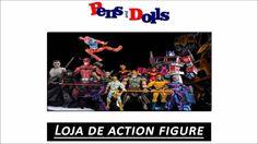 Loja de action figure - Pens and Dolls