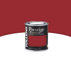 Peinture prestige Murs et boiseries Lie de vin Satin 125 ml - CASTORAMA