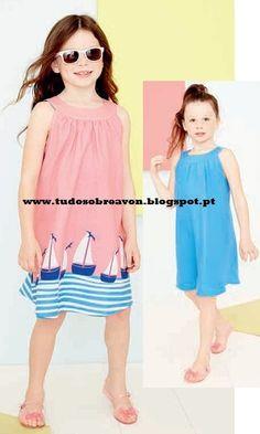 Tudo sobre Avon: Vestido reversível para os mais pequenos!