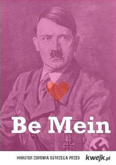 Hitler Be Mein Valentines Day Card