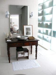 vicente bathroom lighting vicente wolf. Vicente Wolf\u0027s Bathroom | Flickr - Photo Sharing! Lighting Wolf