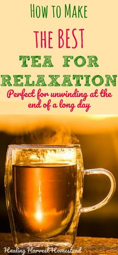 Feeling a little anxious lately? Are you needing a natural way to de-stress at the end of the day? There are many herbs that can help support a healthy nervous system. Here is a recipe for an herbal tea to help you relax! Find peace and relaxation from the herbs in this relaxation tea.