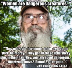 UNCLE SI Boom you're Gone !