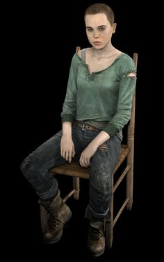 Beyond: Two Souls  Jodie on Chair