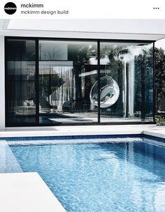 Swinging through the week at 📷 🛋 . Australian Architecture, Australian Homes, Outdoor Spaces, Outdoor Living, Outdoor Decor, Garden Design, House Design, Home Reno, Amazing Gardens