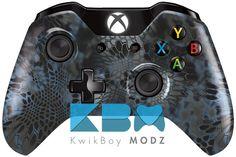 Custom Kryptek Neptune Xbox One Controller - KwikBoy Modz