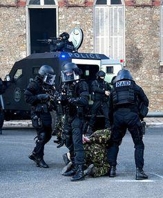 French RAID in training.