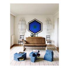 Interior of Miu Miu designer @gherardofelloni