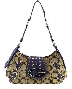 aca5a06f6d8e G Style shoulder bag in purple!