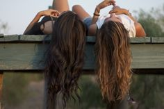Friendship... oh and curly hair :)