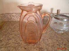 Depression glass pitcher but what pattern???? | Collectors Weekly