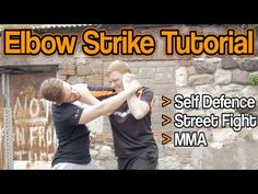 How to Round Elbow Strike for Self Defence, Street Fight, MMA, etc | GNT Tutorial - YouTube