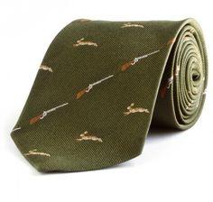 Hare & Rifle Tie, Benson & Clegg