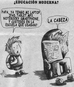 Educación moderna.