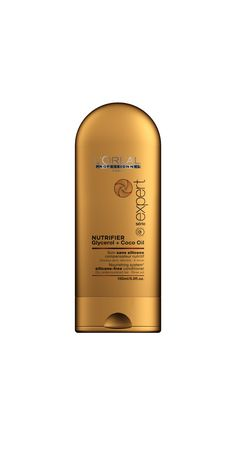 A new generation of complete nutrition for dry, undernourished hair. Coco Oil, Paris, L'oréal Professionnel, Complete Nutrition, Conditioner, Loreal, Hair Care, Personal Care, Bottle