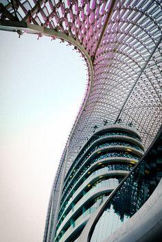 Yas Hotel, Abu Dhabi by AhmedOth, via Flickr
