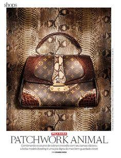 Shops - Peça Rara - PATCHWORK ANIMAL - Foto: Marcel Valvassori / Produção de Moda: Neel Ciconello e Cristiano Oiwane.
