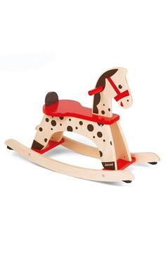 Free shipping and returns on Janod 'Caramel' Wood Rocking Horse (Toddler) at Nordstrom.com. A charming, expertly crafted  rocking horse features a sturdy protective bar to provide baby with added stability and security. As your little one grows and improves their balance, the safety guard can be removed for a rockin' good time.