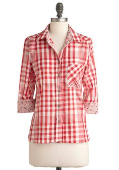 Gone Camping Top, #ModCloth