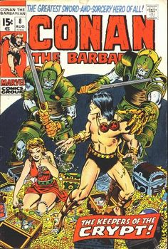 Conan the Barbarian #8. Cover by Barry Smith. #Conan #BarryWindsorSmith