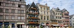 Explore the deep and rich history of Rouen #RiverCruise #RiverCruisesEurope