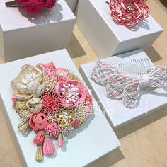 Wire Art, New Shop, Baby Headbands, Diy Design, Knots, Gift Wrapping, Japanese, Cool Stuff, Paper