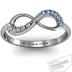 Beautiful! Infinity Accent Ring