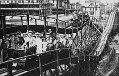 On this day in 1884 — 130 years ago today — the first roller coaster in America opened at Coney Island in Brooklyn, New York.   Known as a switchback railway, it was the brainchild of LaMarcus Thompson, traveled approximately six miles per hour and cost a nickel to ride. The new entertainment was an instant success and by the turn of the century there were hundreds of roller coasters around the country.  Coney Island, a name believed to have come from the Dutch Konijn Eilandt, or Rabbit ...