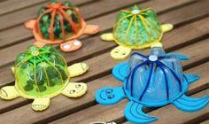 PET palack-teknősök
