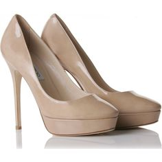 I am all about the Nude shoe- and this is Jimmy Choo of course!
