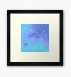 Twilight Nebula Framed Print